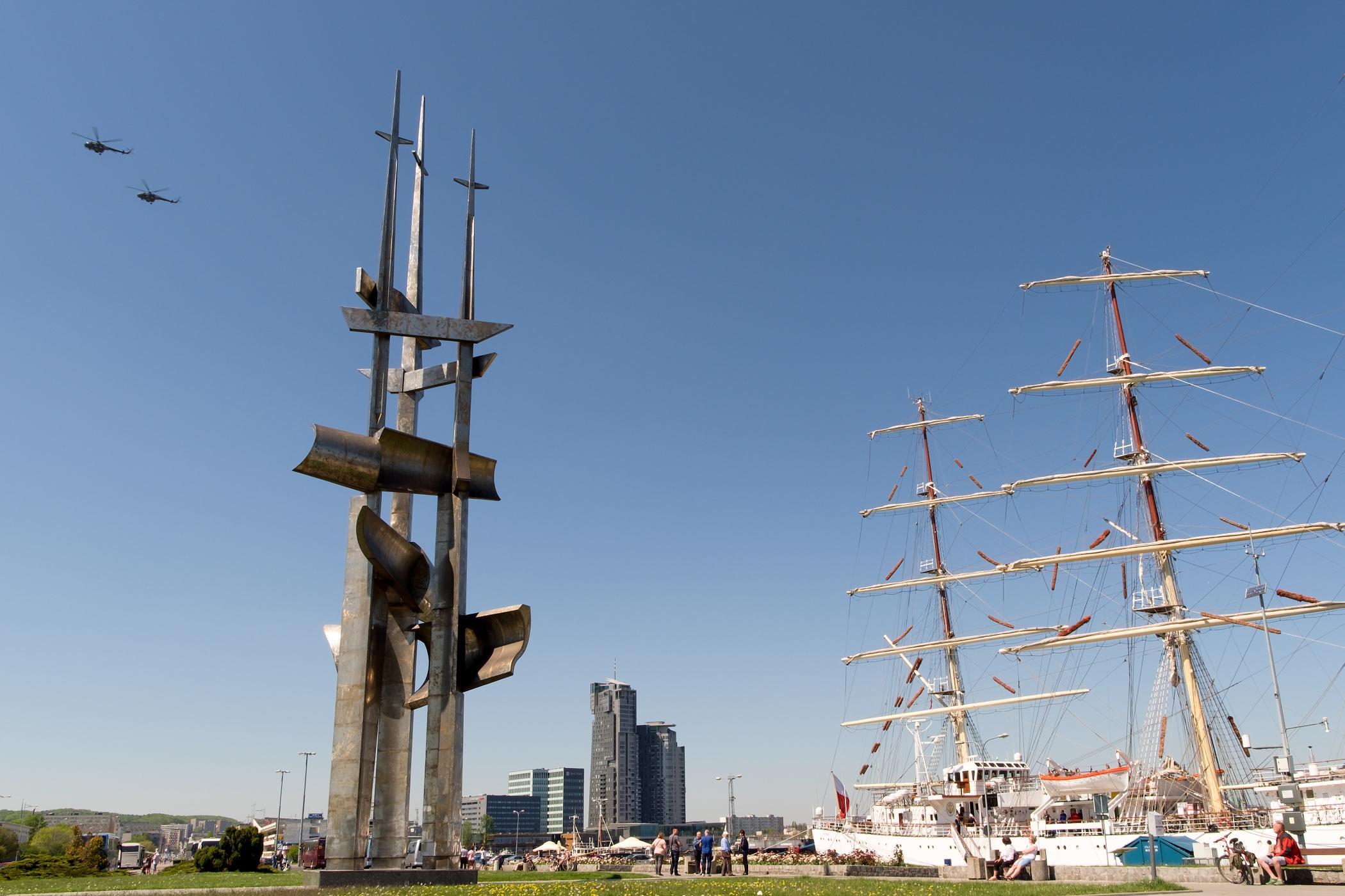 Přístav v Gdyni