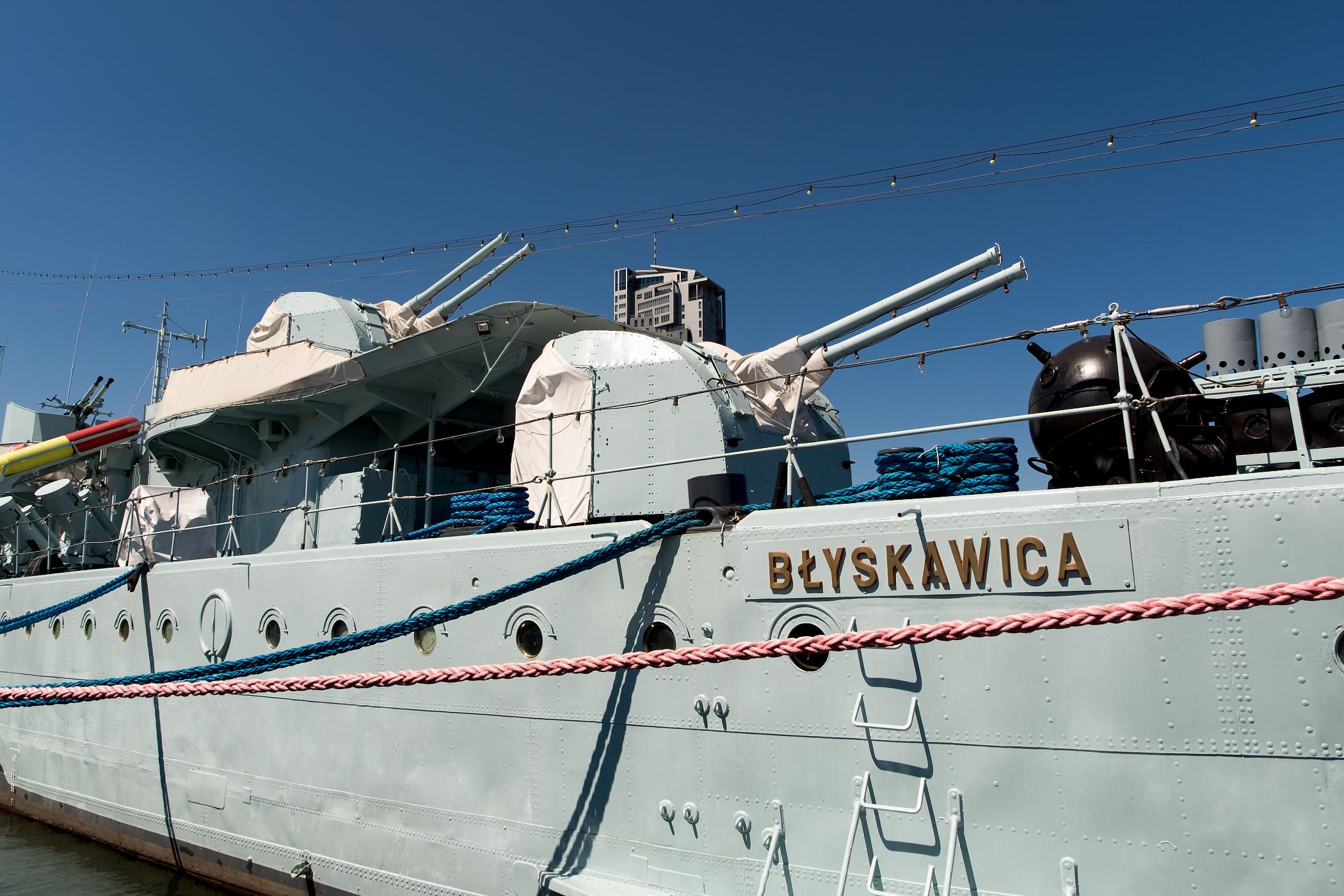 Polský torpédoborec Błyskawica
